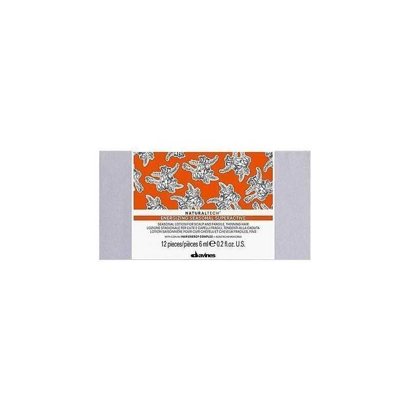 Davines Naturaltech Energizing Seasonal Superactive 12x6ml, ampułki