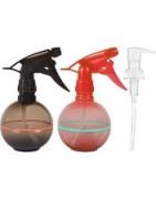 Dozowniki do butelek i ampułek, pompki, atomizery