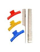 Grzebienie i ząbki rozdzielcze - pomoc w strzyżeniu, farbowaniu i modelowaniu
