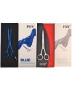 Profesjonalne nożyczki i degażówki fryzjerskie marki FOX.