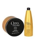 Fanola Oro Therapy - seria produktów do włosów pozbawionych blasku.